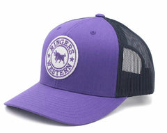 RINGERS WESTERN SIGNATURE BULL TRUCKER - PURPLE