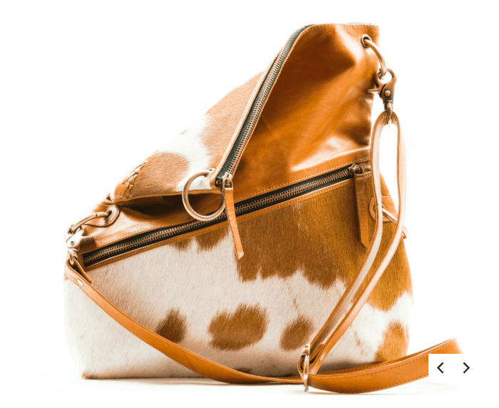 PARIS LEATHER HANDBAG - TAN