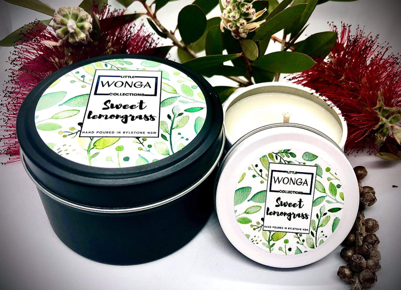 HAND POURED SOY CANDLE TINS