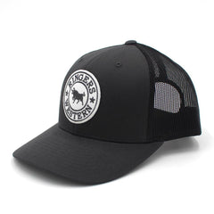 RINGERS WESTERN SIGNATURE BULL TRUCKER - CHARCOAL & WHITE