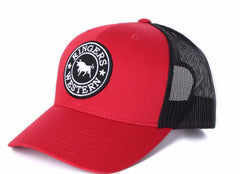 RINGERS WESTERN SIGNATURE BULL TRUCKER - RED