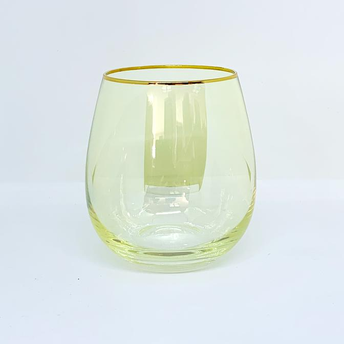 LUSTRE TUMBLERS - YELLOW