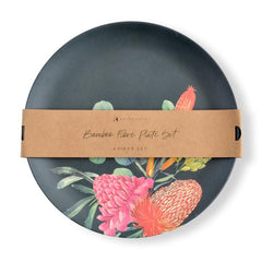 PLATE SET 4PC - BANKSIA
