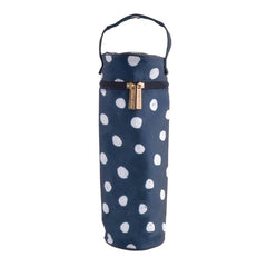 BOTTLE BAG - NAVY SPOT