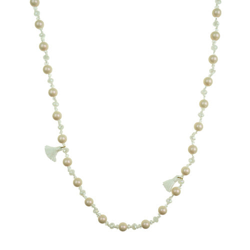 NECKLACE - BEIGE
