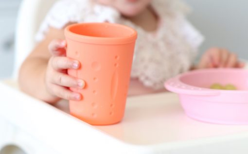 NON-TOXIC SILICONE BOWL AND CUP SET