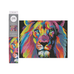 CANVAS SPARKLE KIT - LION