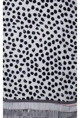 SCARF - BLACK DOT