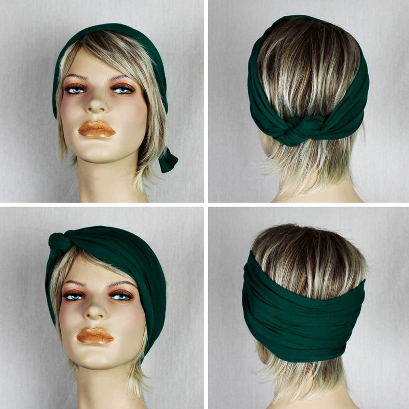 DO RAG/WIRED HEAD WRAP - BLUSH SPOTS