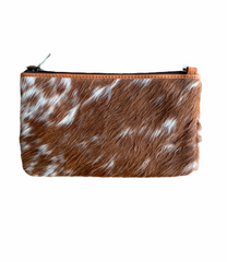 BARCELONA SMALL SLING COWHIDE HANDBAG - TAN LEATHER