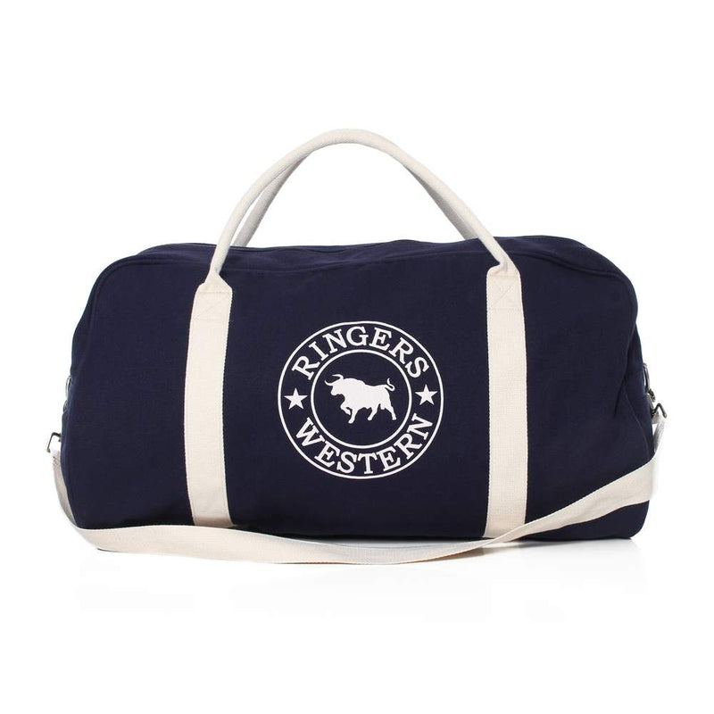 GUNDAGAI DUFFLE BAG - NAVY/NATURAL