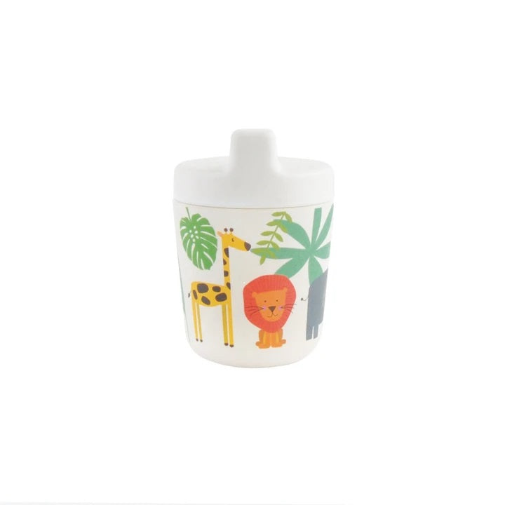 BAMBOO SIPPY CUP - SAFARI ADVENTURE