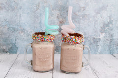 REUSABLE TWIRLY STRAW - 2 PACK