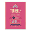 Retro canvas picture Motivational Life Quotes on Print poster home Wall decor