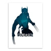 Wolverine X Men art print Super Hero comics Canvas wall hanging picture