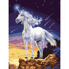 Paint craft kit DIY Painting By Numbers UNICORN Acrylic Paint On Canvas gift