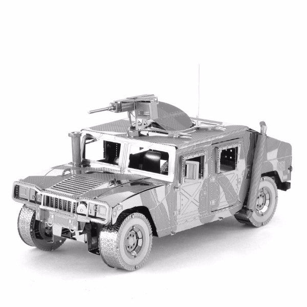 3D Metal Puzzles Hunvee vehicles metal model building DIY kit craft boys gift | Healing stone Handmade Jewelry by AnuanA Craft