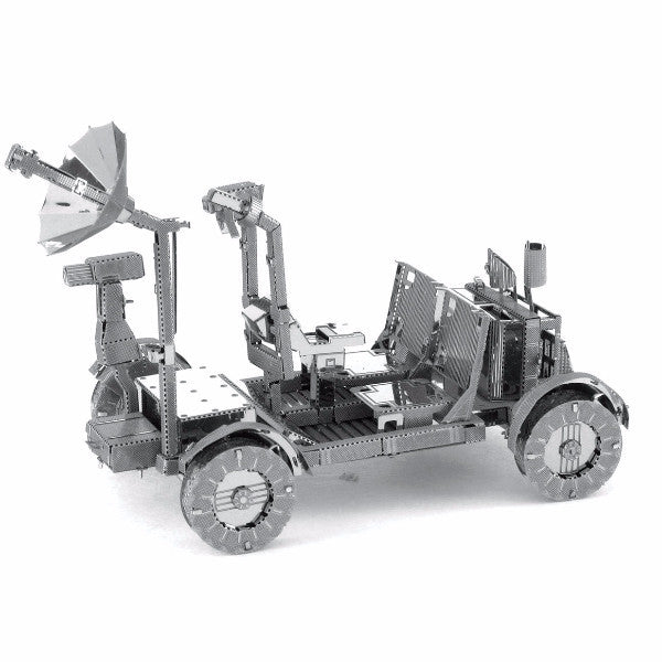 3D puzzle Metal model kit Apollo lunger rover building DIY toy kids family craft | Healing stone Handmade Jewelry by AnuanA Craft