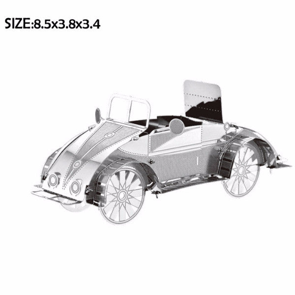 Construction toy Buggy car Vehicles metal Model building DIY kit 3D Puzzles | Healing stone Handmade Jewelry by AnuanA Craft