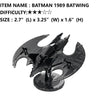 Batman 3D metal puzzle 5 styles black model assembly craft boys mens gift | Healing stone Handmade Jewelry by AnuanA Craft
