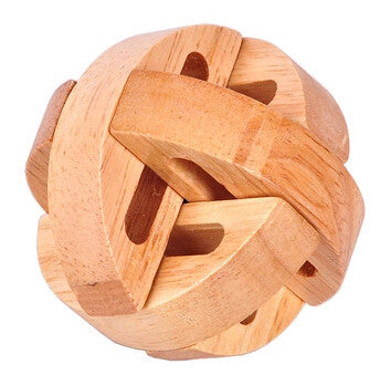 IQ brain game Classic Wooden 3D Puzzle Brain Teaser all age gift mens gift | Healing stone Handmade Jewelry by AnuanA Craft