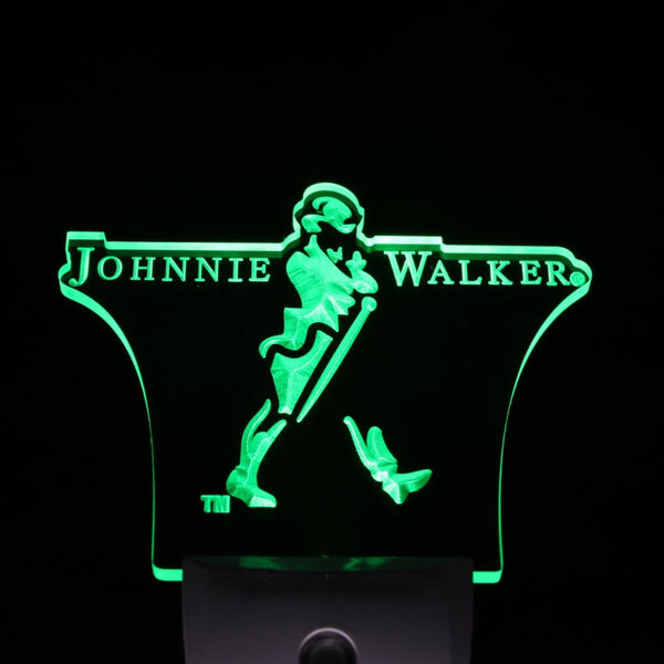 Johnnie Walker LED wall plug in Whiskey Bar pub light Sensor mens gift | Healing stone Handmade Jewelry by AnuanA Craft