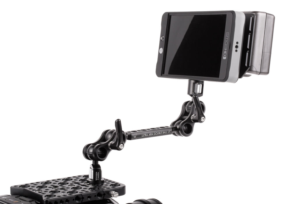 "Wooden Camera Ultra Arm Monitor Mount (1/4-20 to 3/8-16, 5"")"