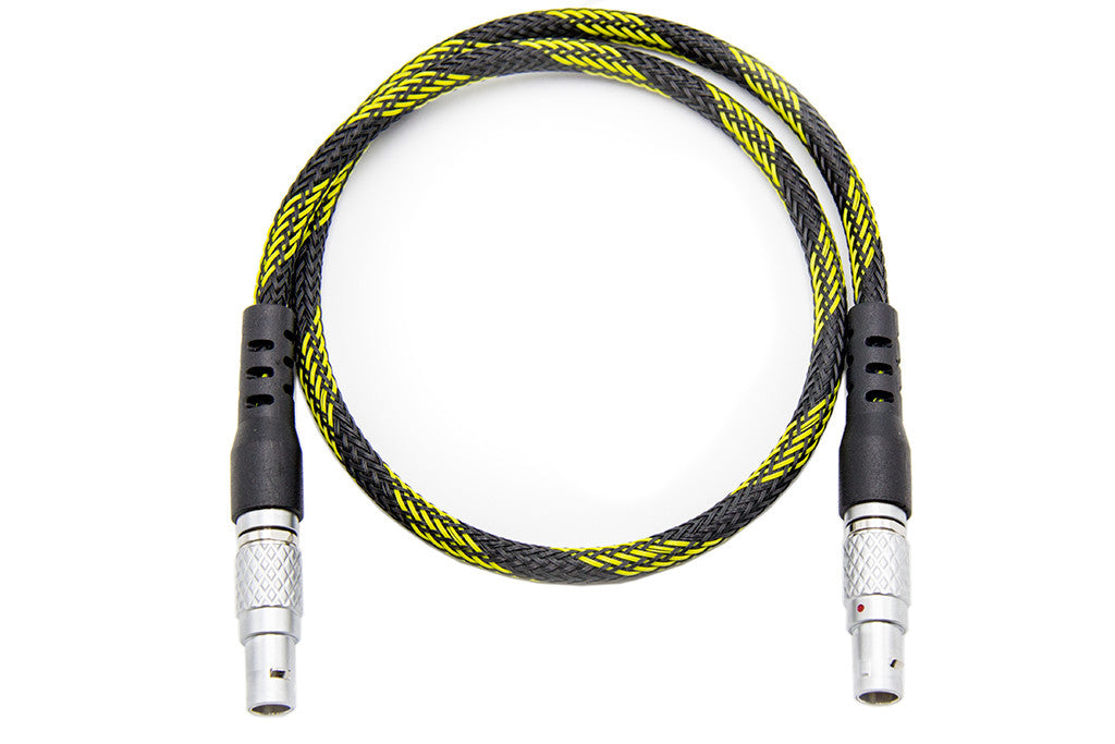 "5-pin to 5-pin Timecode Cable - 20"", straight to straight"