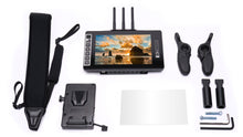 703 Bolt Directors Bundle - 7-inch Wireless Monitor with Directors Handles and Gold or V-Mount Battery Plate