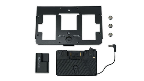 SmallHD Gold Mount battery bracket with mounting plate for 700 series