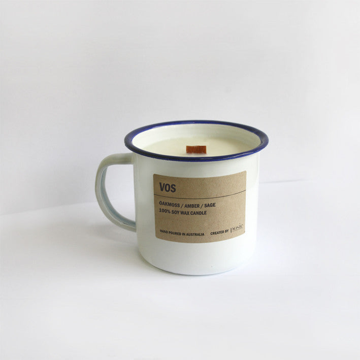 VOS / Enamel Soy Candle