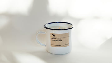 CHI: Coconut / Almond Enamel Candle