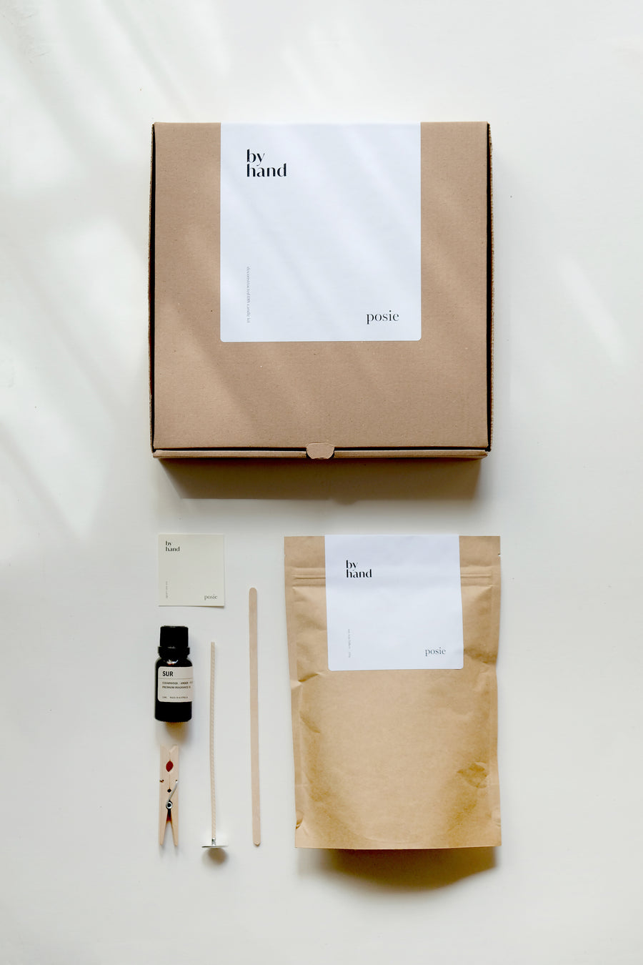 THE CLEAR – D.I.Y. Candle Making Kit