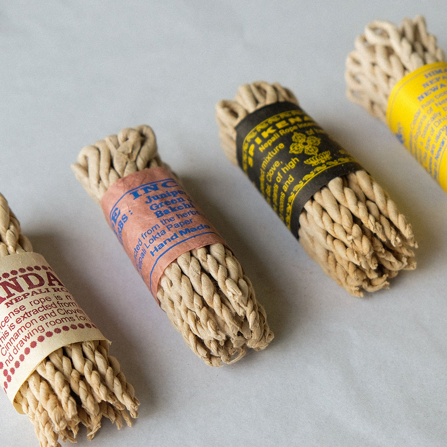 Rope Incense 4 x Bundles