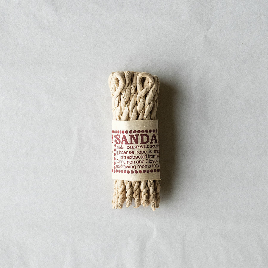 Rope Incense Bundle - Sandalwood