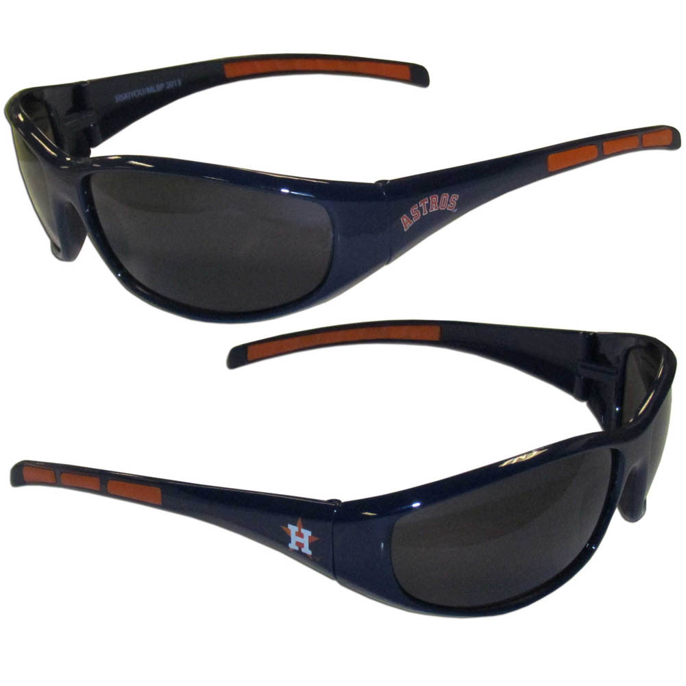 Houston Astros Wrap Sunglasses