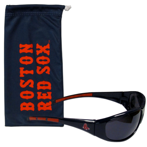 Boston Red Sox Sunglass and Bag Set