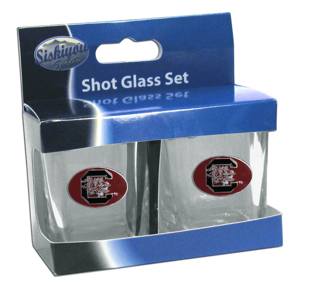 S. Carolina Gamecocks Shot Glass Set