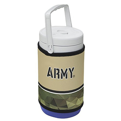 810005ARMY-002 Army West Point Black Knights 1/2 Gallon Rappz Cooler Cover