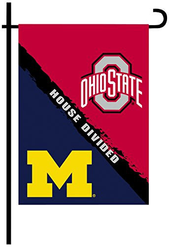2-Sided Garden Flag - Rivalry House Divided - 83955