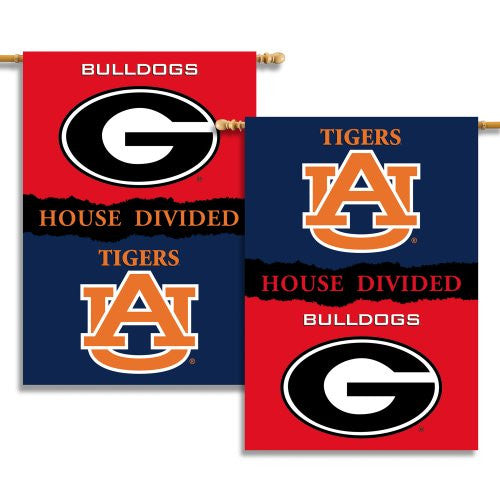 "2-Sided 28"" X 40"" Banner W/ Pole Sleeve House Divided - 96745"