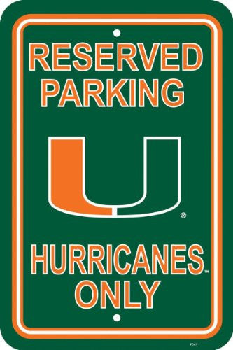"12"" X 18"" Plastic Parking Sign - 50238"