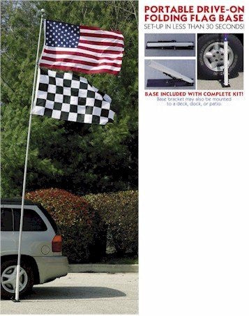 16 Ft Telescoping Tailgate Flagpole - 11131