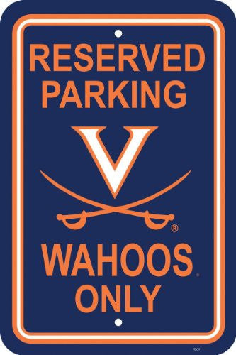 "12"" X 18"" Plastic Parking Sign - 50269"