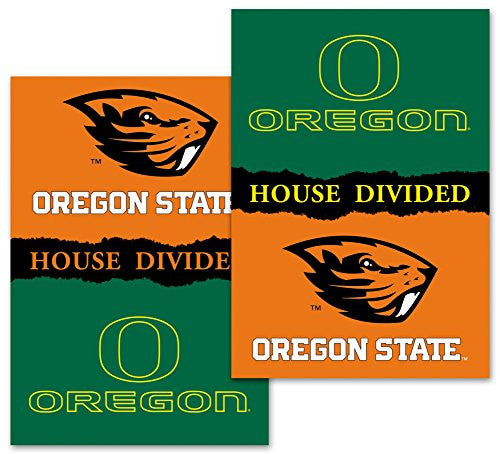 "2-Sided 28"" X 40"" Banner W/ Pole Sleeve House Divided - 96951"