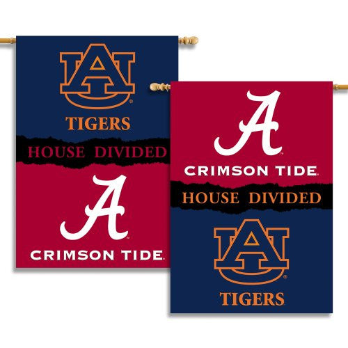 "2-Sided 28"" X 40"" Banner W/ Pole Sleeve House Divided - 96245"