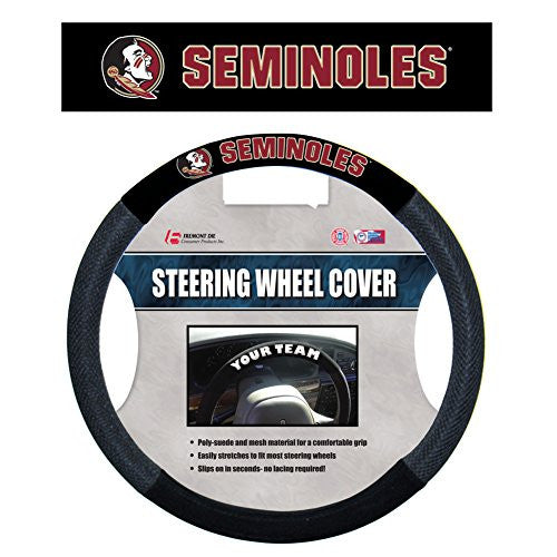 Poly-Suede Steering Wheel Cover - 48599