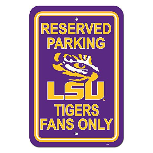 "12"" X 18"" Plastic Parking Sign - 50293"
