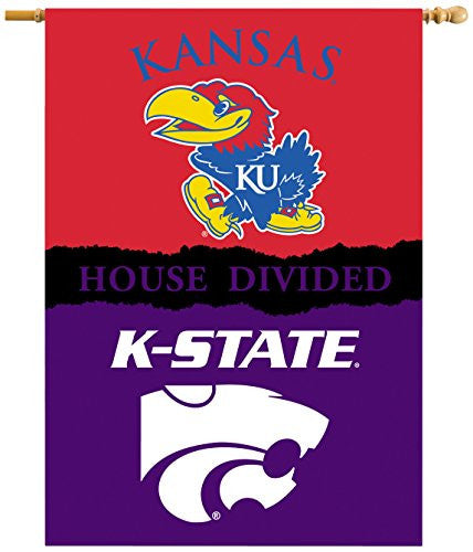 "2-Sided 28"" X 40"" Banner W/ Pole Sleeve House Divided - 96418"