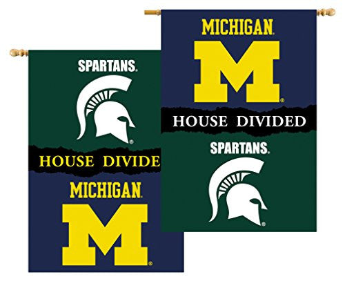 "2-Sided 28"" X 40"" Banner W/ Pole Sleeve House Divided - 96329"